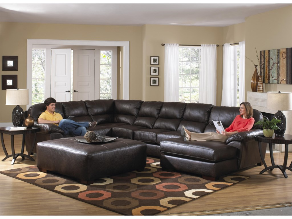 Lawson Extra Large Seven Seat Sectional By Jackson Furniture