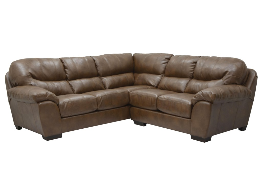 Jackson Furniture Lawson Sectional Sofa In Corner Configuration
