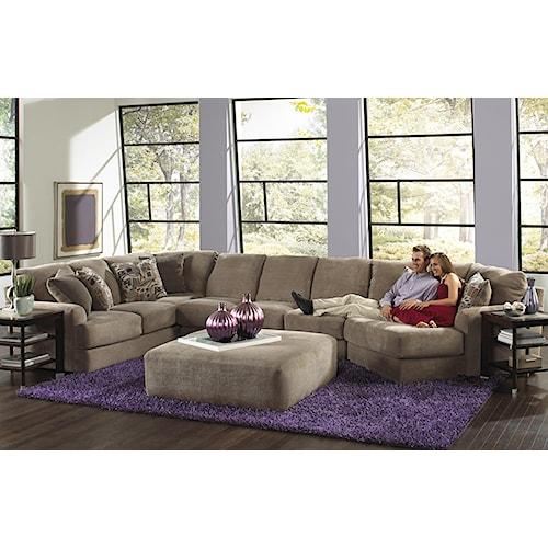 Jackson Furniture Malibu Six Seat Sectional Sofa