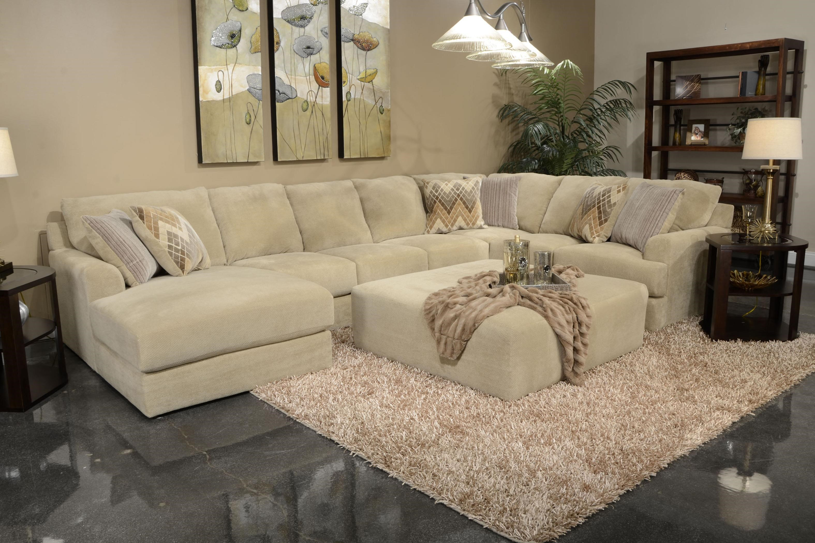 Jackson Furniture Malibu Six Seat Sectional Sofa  sc 1 st  Wayside Furniture : jackson sectional - Sectionals, Sofas & Couches