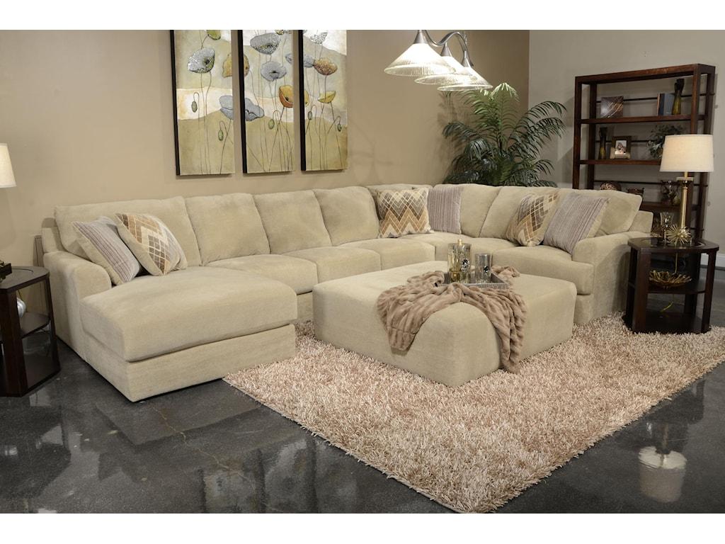 Jackson Furniture Malibusix Seat Sectional Sofa