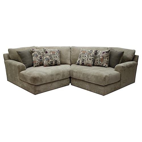 Jackson Furniture Malibu Two Seat Sectional