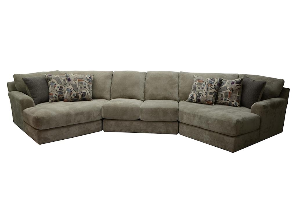 Jackson Furniture Malibufour Seat Sectional Sofa