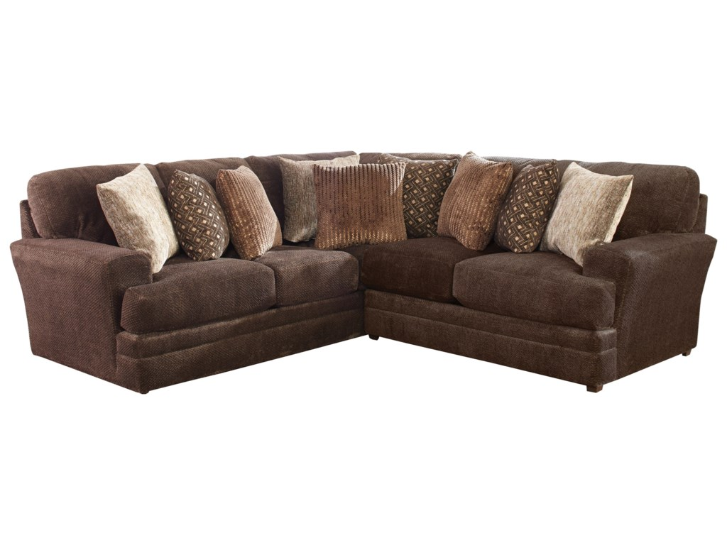 Jackson Furniture Mammoth Two Piece Sectional With Track Arms