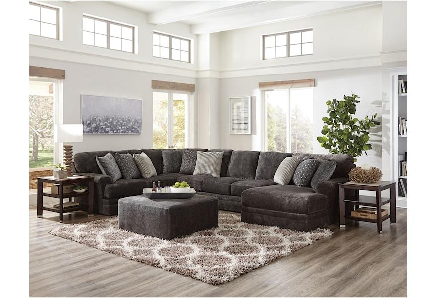 Jackson Mega Three Piece Sectional Sofa