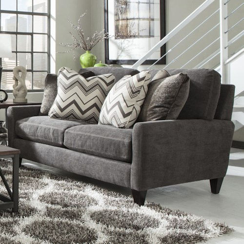 Jackson Furniture Mulholland Loveseat with Casual Contemporary Style