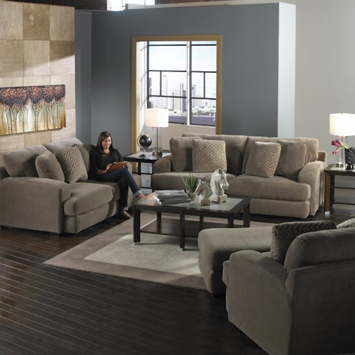 Jackson Furniture Palisades Stationary Living Room Group