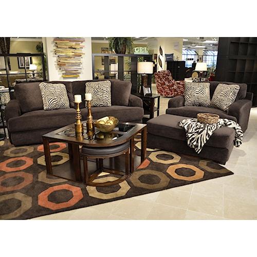 Jackson Furniture Palisades Stationary Living Room Group