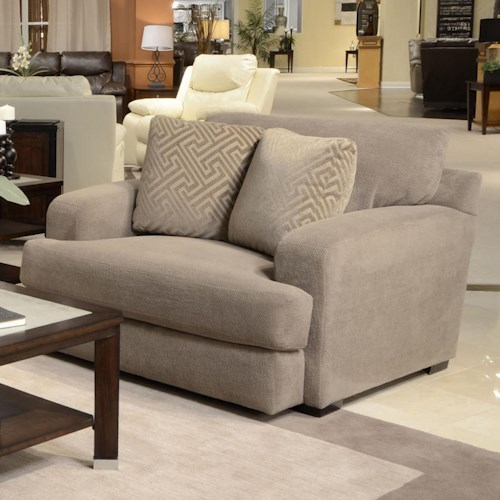 Jackson Furniture Palisades Casual Modern Chair and a Half