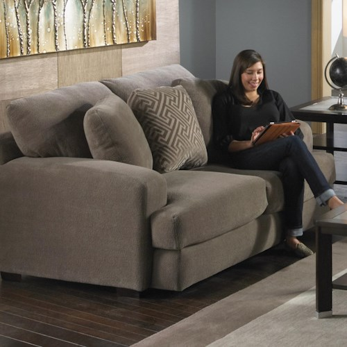 Jackson Furniture Palisades Casual Modern Loveseat