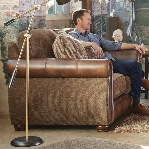 Jackson Furniture Pennington Loveseat with Traditional Style