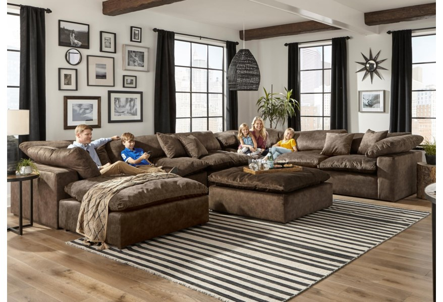 Chaise Sectional With Reversible