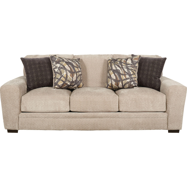 Jackson Furniture Prescott Casual Contemporary Sofa   Miskelly Furniture    Sofas
