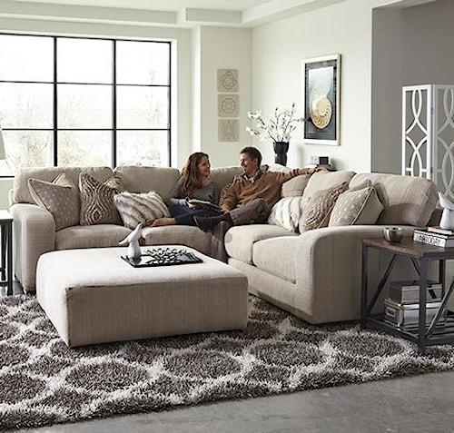 Jackson Furniture Serena Corner Sectional Sofa