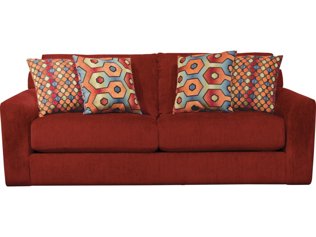 Sutton Sofa with Casual Style by Jackson Furniture at Lindy\'s Furniture  Company