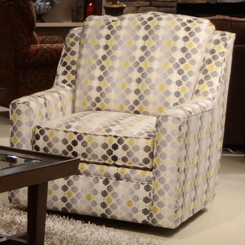 Jackson Furniture Sutton  Swivel Chair with Casual Style