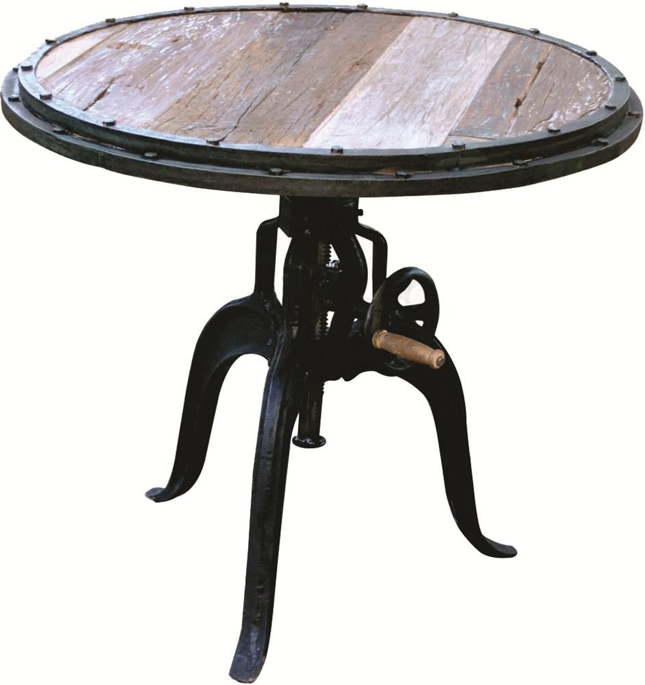 Morris Home Furnishings ChileChile Adjustable Bar Table
