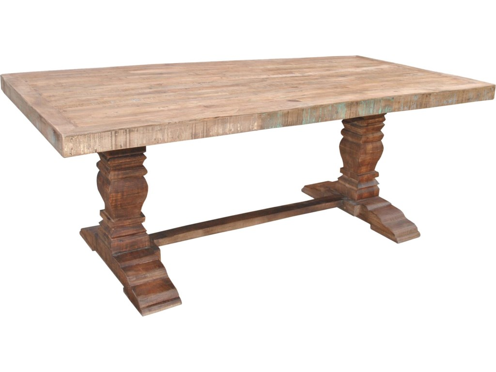 Guru Pedestal Dining Table