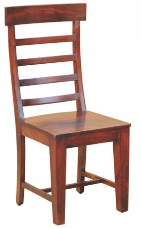 Morris Home Furnishings Senegal Wood Ladder Back Dining Side Chair