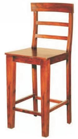 Morris Home Furnishings Canada Rich Brown Ladder Back Counter Stool
