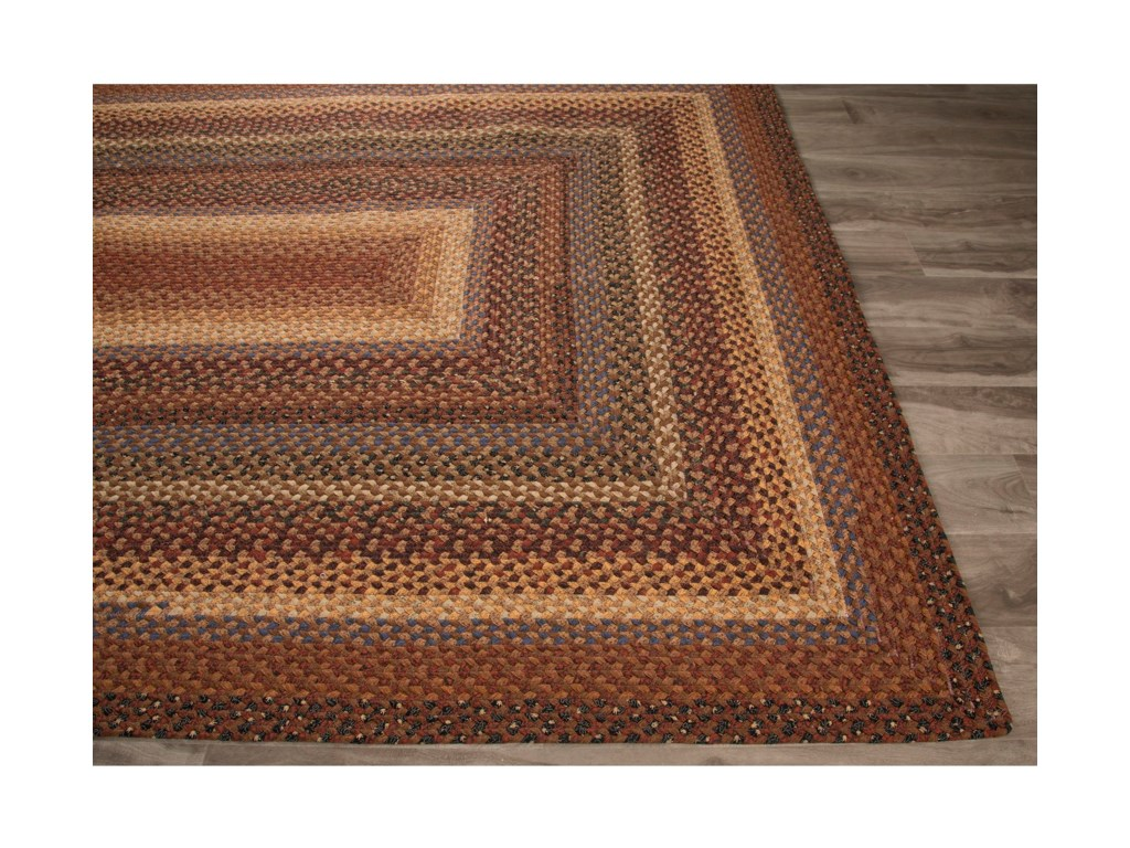 JAIPUR Rugs Cotton Braided Rugs5 x 8 Rug