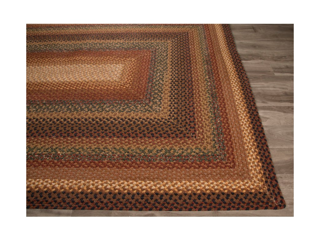 JAIPUR Rugs Cotton Braided Rugs2.6 x 6 Rug