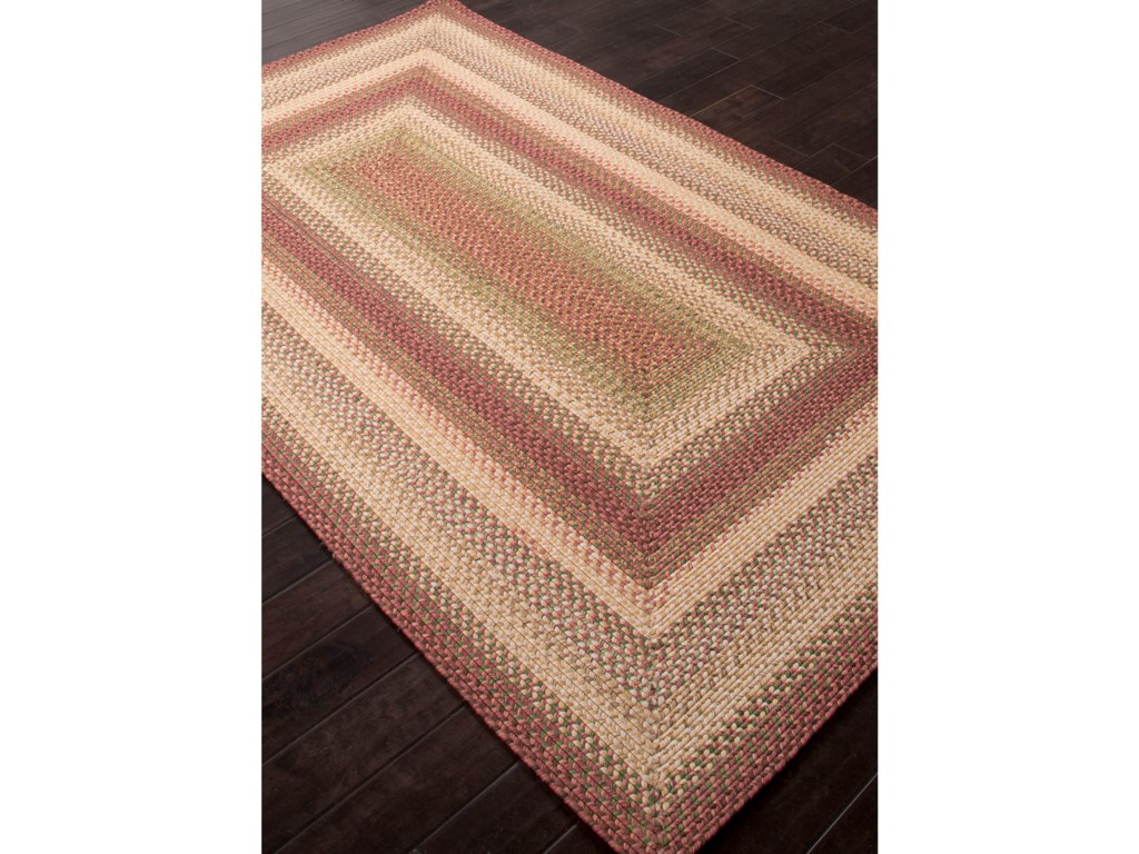 JAIPUR Rugs Ultra Durable Braided Rugs2.6 x 9 Rug