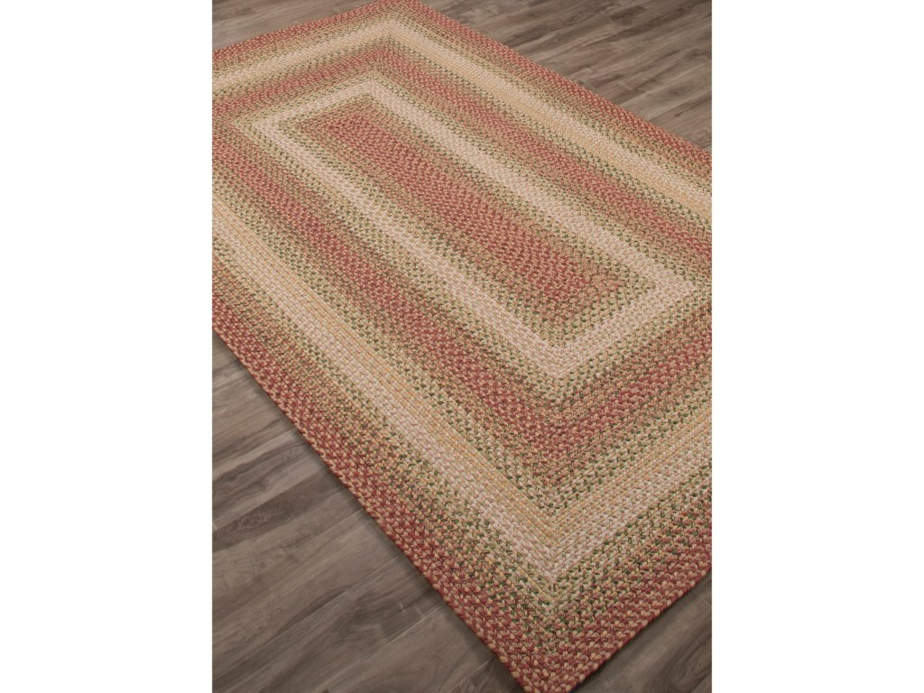 JAIPUR Rugs Ultra Durable Braided Rugs5 x 8 Rug