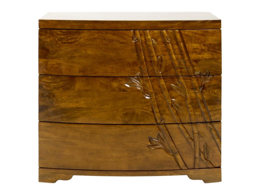 Jamieson Import Services, Inc. Foliage3 Drawer Dresser