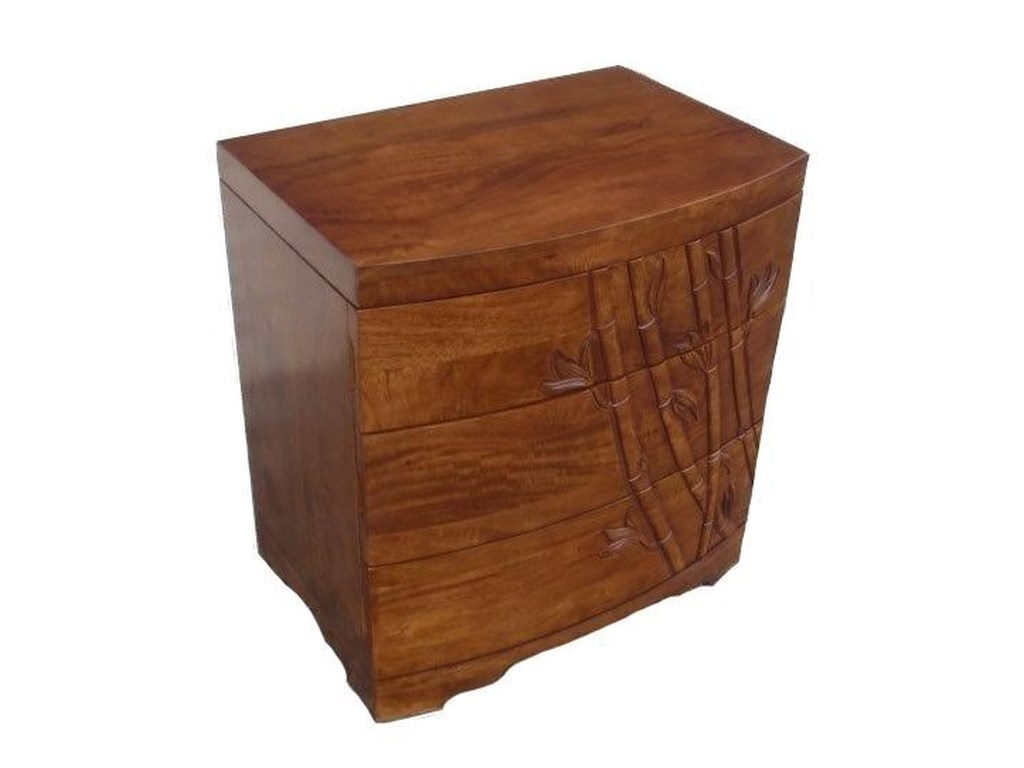 Jamieson Import Services, Inc. Foliage3 Drawer Nightstand