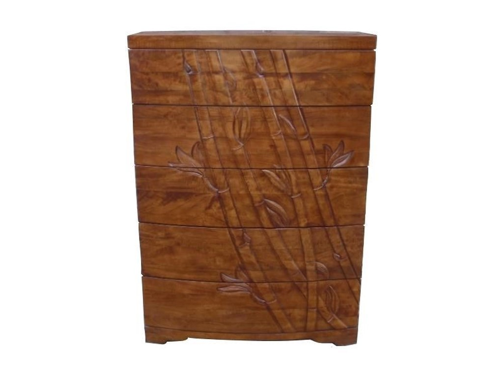 Jamieson Import Services, Inc. Foliage5 Drawer Chest