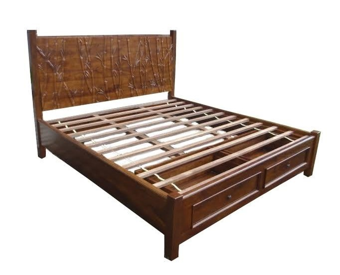 Jamieson Import Services, Inc. FoliageCalifornia King Storage Bed