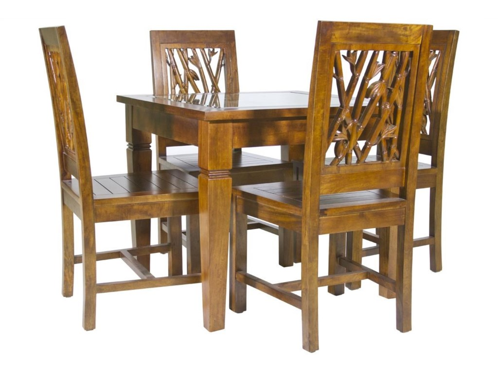 Jamieson Import Services, Inc. Foliage5 Piece Dining Package