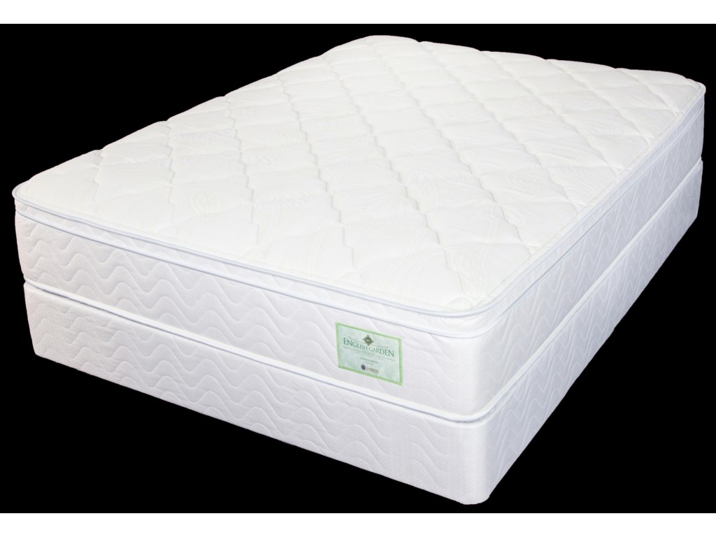Jamison Bedding SunflowerTwin Euro Top Mattress Set