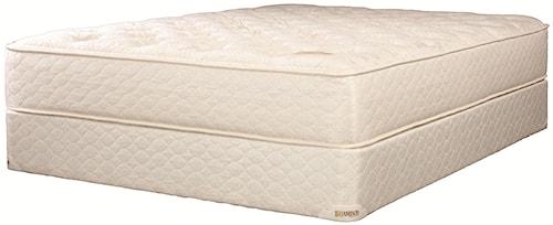 Jamison Bedding TLC Comfort Choice King Latex Dual Mattress and Box Spring