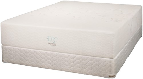 Jamison Bedding TLC Opulence Queen Latex Mattress and Box Spring