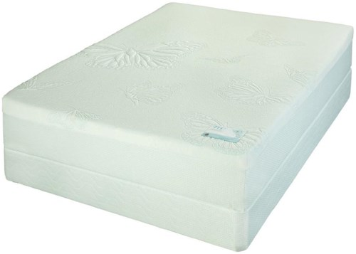 Jamison Bedding Prince Twin Plush Latex Mattress