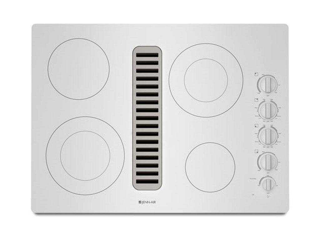 30 Electric Radiant Downdraft With Ceran Gl Ceramic Surface By Jenn Air Cooktops Collection