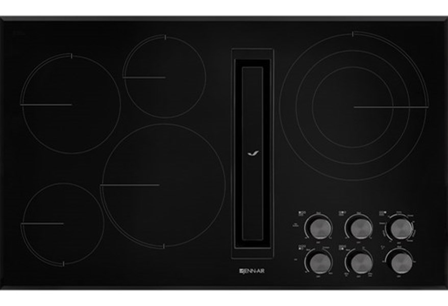 36 Jx3 Electric Downdraft Cooktop