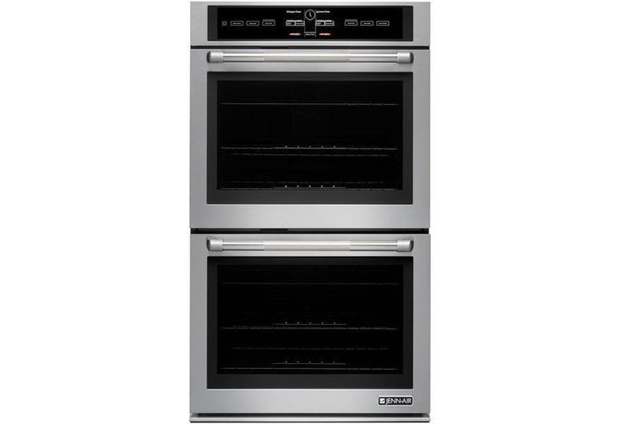 Jenn Air Jjw3830dp 30 Double Wall Oven With 7 Inch Full Color