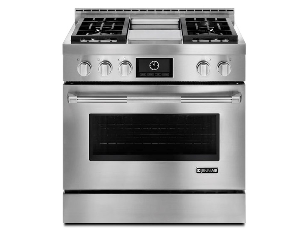 36 Pro Style Gas Range With Griddle And Multimode Convection By Jenn Air