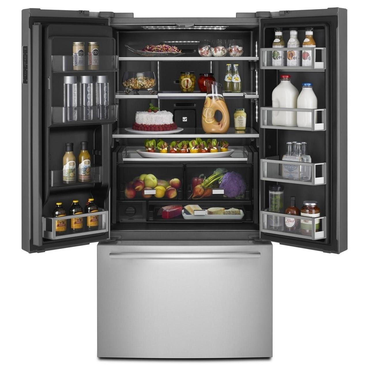 ... Jenn Air Refrigerators   French Door72u201d Counter Depth French Door  Refrigerator ...