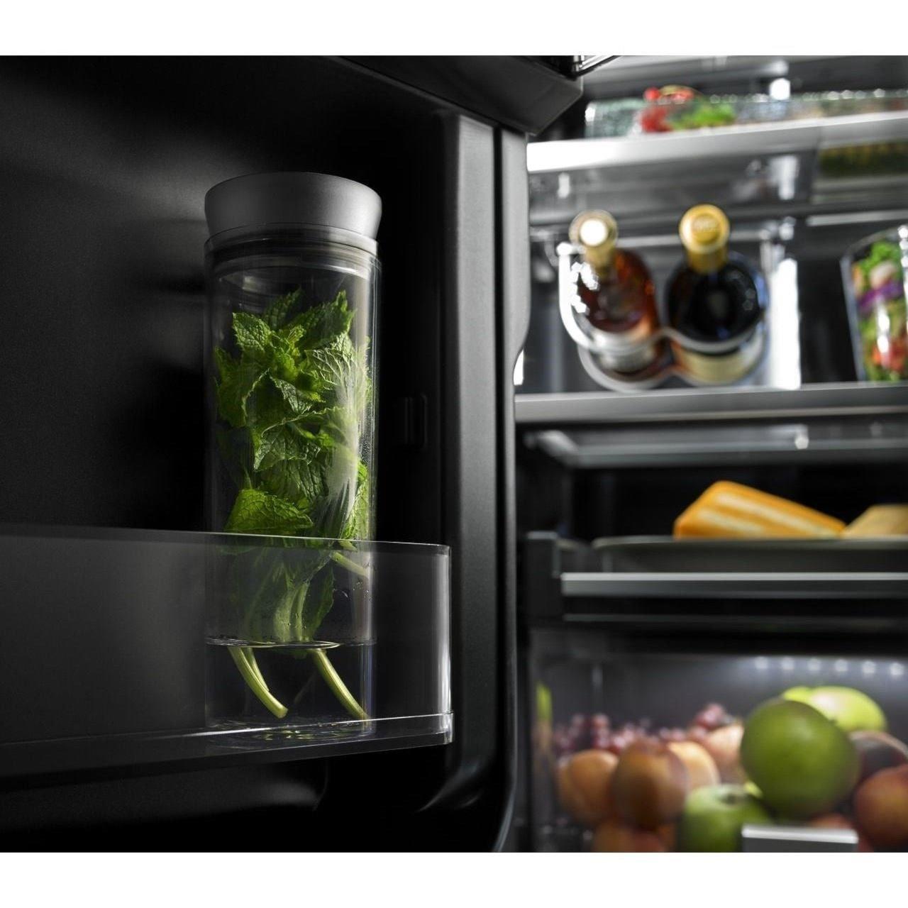 jenn air jfc2089bem. shown in: jenn-air refrigerators - french door 72\u201d counter-depth refrigerator with obsidian interior jenn air jfc2089bem d