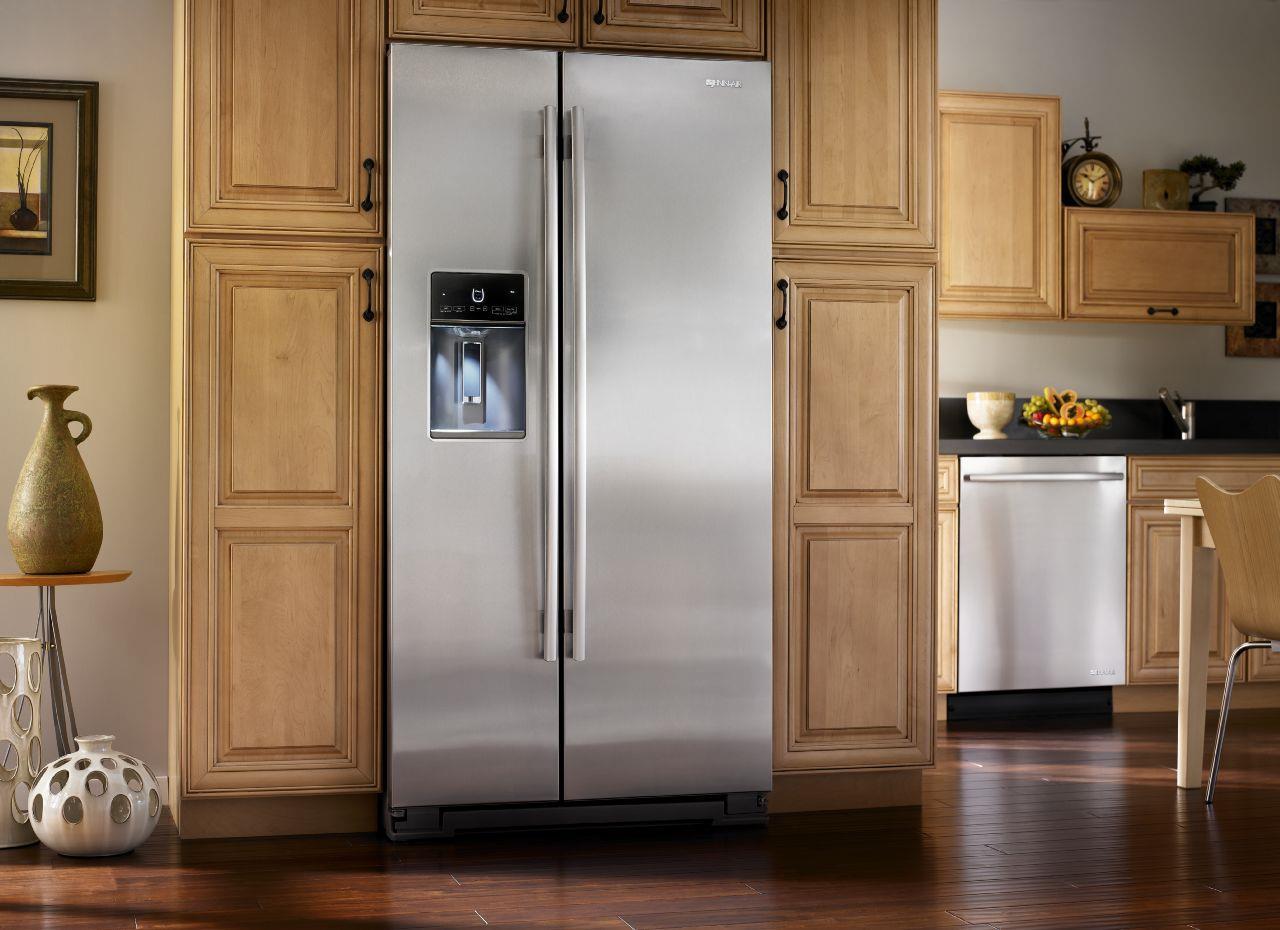 ... Jenn Air SideXSide Refrigerators72u201d Counter Depth Freestanding  Refrigerator