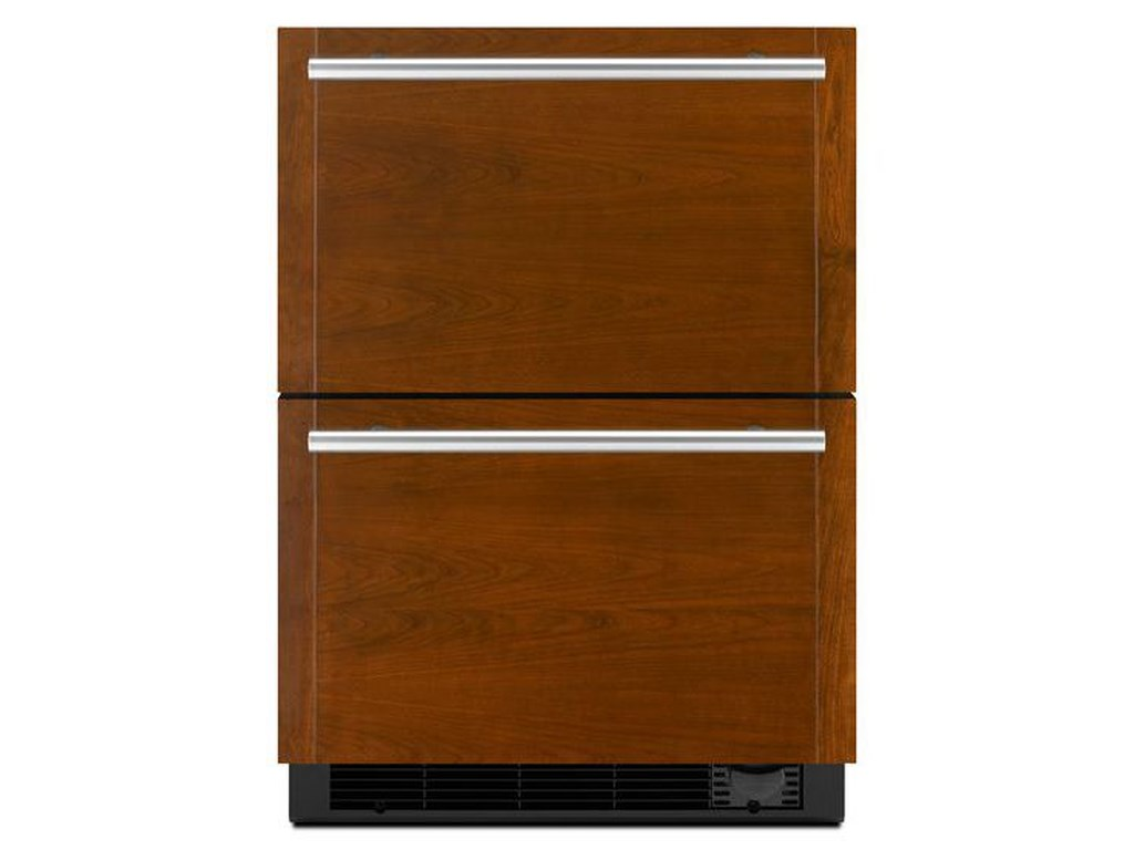 Special Compact Refrigeration 24 Refrigerator Freezer Drawers By Jenn Air At Furniture And Liancemart