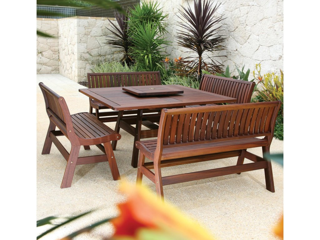 Jensen Leisure Beechworth5 Piece Outdoor Dining Set
