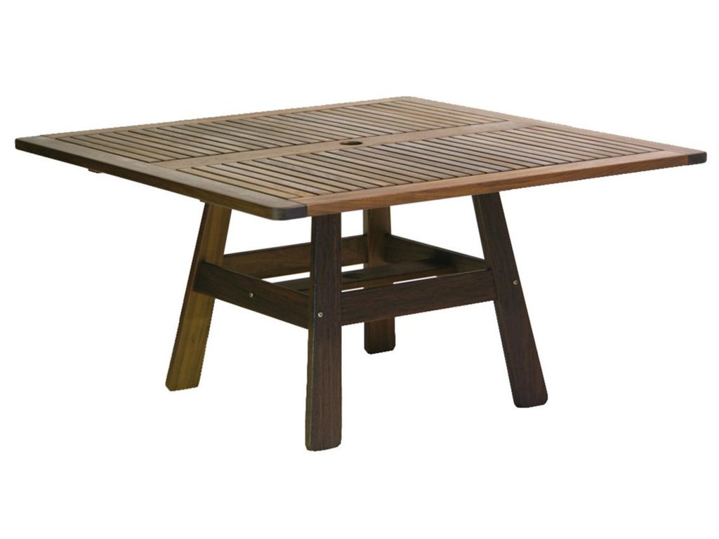 Jensen Leisure Beechworth Square Outdoor Table - Becker Furniture World -  Outdoor Dining Table - Jensen Leisure Beechworth Square Outdoor Table - Becker Furniture