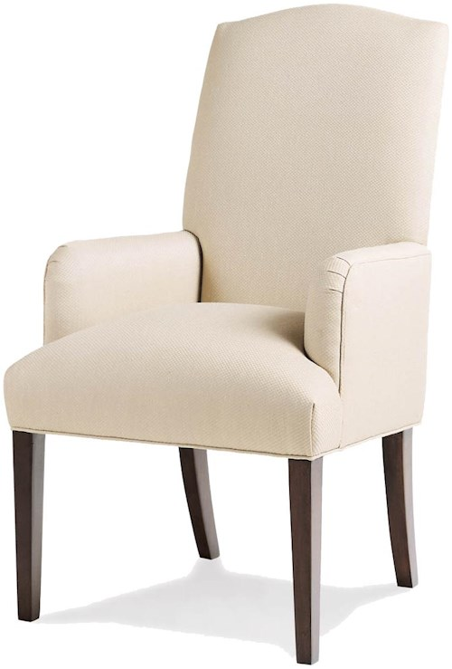 Jessica Charles Fine Upholstered Accents Petra Dining Arm Chair