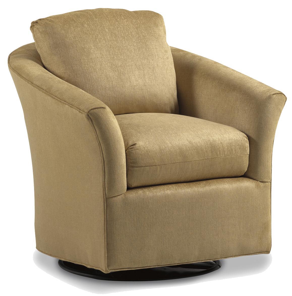 Jessica Charles Fine Upholstered Accents Payne Upholstered Swivel Glider