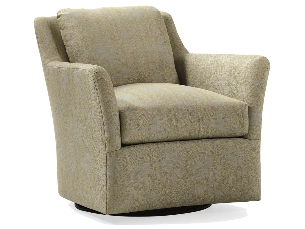Jessica Charles Fine Upholstered AccentsAddison Swivel Chair